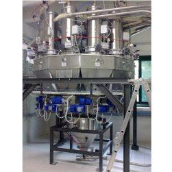 מערכת מינון רב ראשית להכנת קיטים עד 12 חומרי גלם
