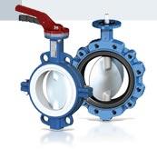 ברז פרפר לאבקות ומוצקים ללחץ גבוהה ל עד 25 בר ולוואקום 1